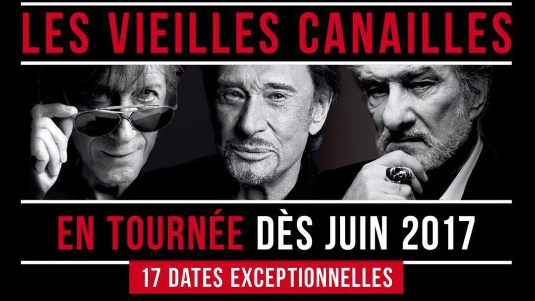 6b0f49e741 Les Vieilles Canailles : découvrez le single de la tournée !