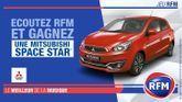 Écoutez RFM et gagnez une Mitsubishi Space Star