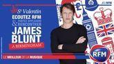 Partez à Birmingham applaudir et rencontrer James Blunt pour la Saint Valentin !