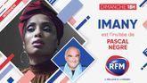Dimanche 19 septembre: Imany est l'invitée de Pascal Nègre