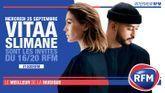 Mercredi 25 septembre : Vitaa et Slimane sont les invités du 16/20 !