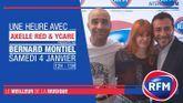 Samedi 4 janvier : Ycare et Axelle Red sont les invités de Bernard Montiel