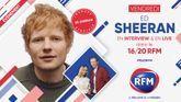 Vendredi 29 octobre : Ed Sheeran est l'invité du 16/20 sur RFM !