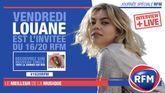 Vendredi 3 juillet: Louane est l'invitée du 16/20 RFM!