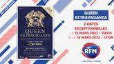 Queen Extravaganza: deux dates exceptionnelles en France les 15 et 16 mars 2022 !