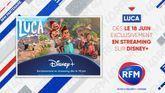 RFM est partenaire du film d'animation LUCA sur Disney+