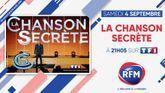 Samedi 4 septembre, à 21h05: RFM partenaire de «La chanson secrète» sur TF1 !