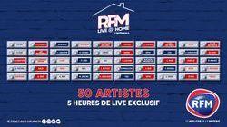 Redécouvrez l'intégrale de vos RFM Live @ Home!
