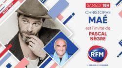 Samedi 23 janvier: Christophe Maé est l'invité de Pascal Nègre
