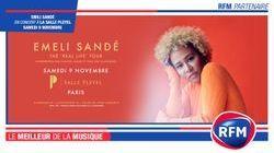 RFM partenaire du concert d' Emeli Sandé le 9 novembre à la Salle Pleyel