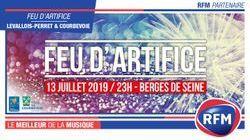 RFM partenaire du Feu d'artifice de Levallois-Perret 2019 !