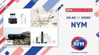 RFM vous offre 1 an de soins de la marque NYM !
