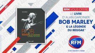 RFM vous offre le livre «Bob Marley et la légende du Reggae» !