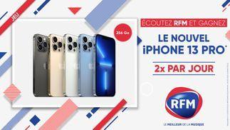 RFM vous offre le nouvel iPhone 13 Pro... 2 fois par jour !