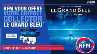 RFM vous offre votre coffret collector Le Grand Bleu