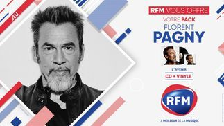 RFM vous offre votre pack Florent Pagny !