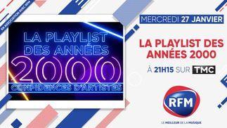 Mercredi 27 janvier, à 21H15, sur TMC: RFM partenaire de «La Playlist des années 2000»